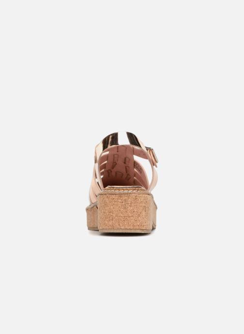 Sandales et nu-pieds Coolway PAPAYA Rose vue droite