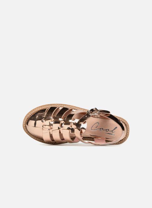 Sandales et nu-pieds Coolway PAPAYA Rose vue gauche