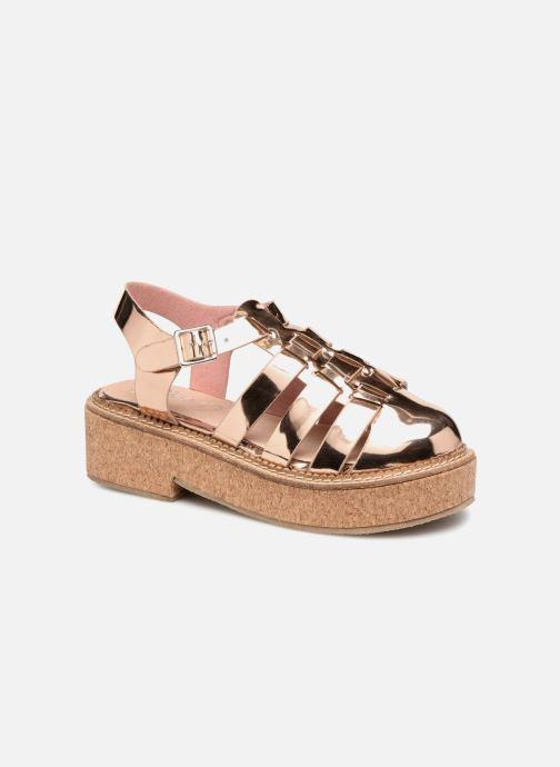Sandales et nu-pieds Coolway PAPAYA Rose vue détail/paire