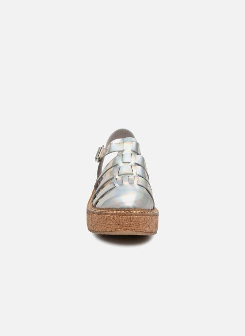 Sandales et nu-pieds Coolway PAPAYA Argent vue portées chaussures