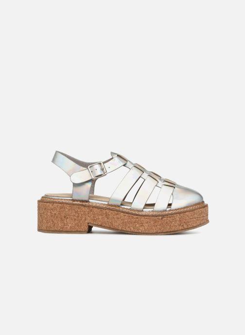 Sandales et nu-pieds Coolway PAPAYA Argent vue derrière