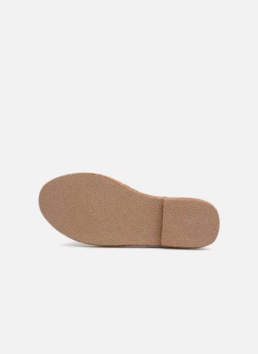 Sandales et nu-pieds Coolway PAPAYA Argent vue haut