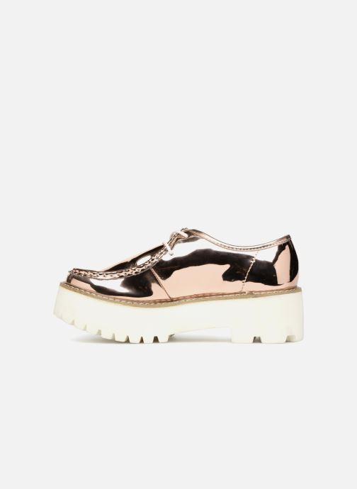Zapatos con cordones Coolway PINEAPPLE Rosa vista de frente
