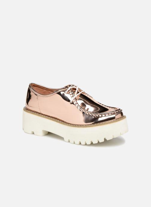 Zapatos con cordones Coolway PINEAPPLE Rosa vista de detalle / par