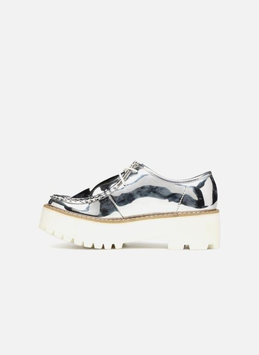 Lace-up shoes Coolway PINEAPPLE Silver front view