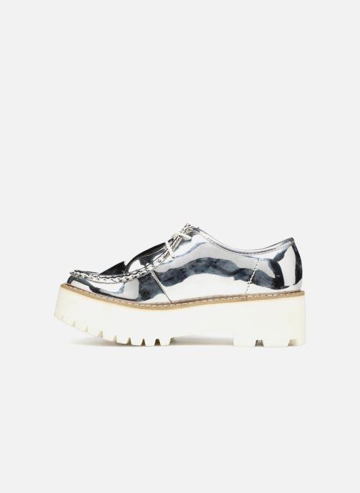 Zapatos con cordones Coolway PINEAPPLE Plateado vista de frente