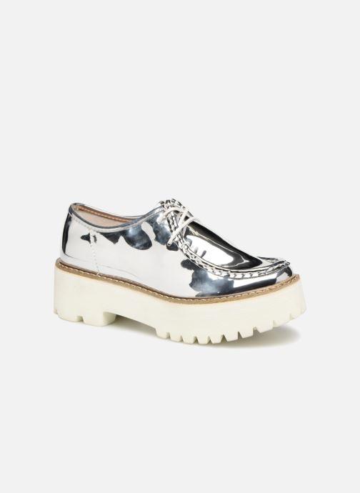 Zapatos con cordones Coolway PINEAPPLE Plateado vista de detalle / par