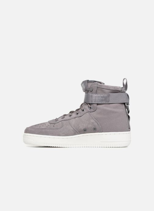 Sneaker Nike Sf Af1 Mid grau ansicht von vorne