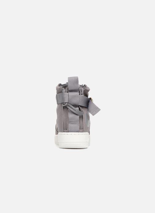 Sneaker Nike Sf Af1 Mid grau ansicht von rechts