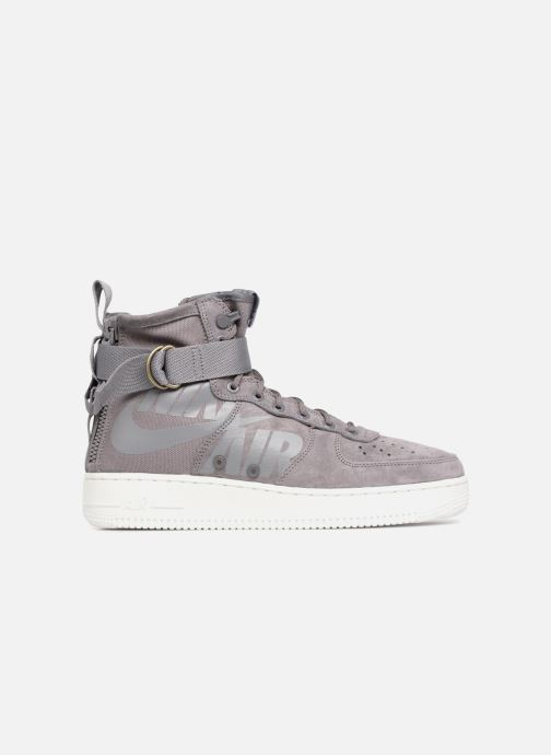 Sneaker Nike Sf Af1 Mid grau ansicht von hinten
