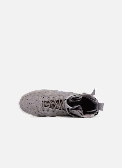 Sneaker Nike Sf Af1 Mid grau ansicht von links