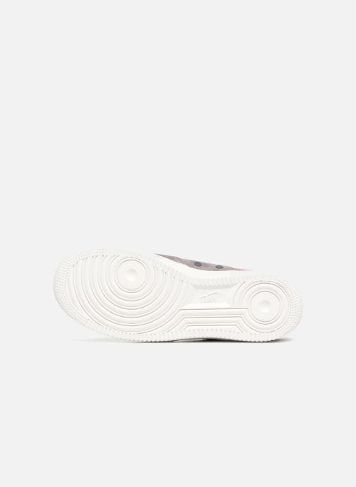 Sneaker Nike Sf Af1 Mid grau ansicht von oben