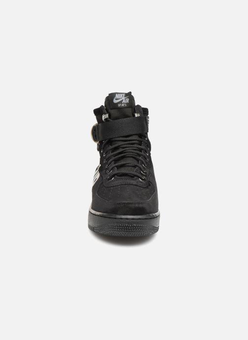 Sneaker Nike Sf Af1 Mid schwarz schuhe getragen