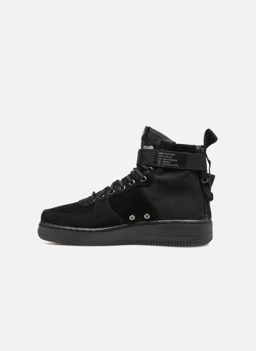 Sneaker Nike Sf Af1 Mid schwarz ansicht von vorne