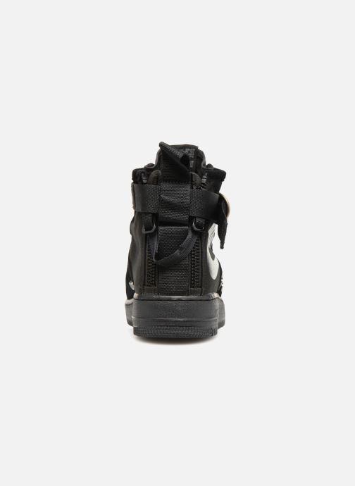 Sneaker Nike Sf Af1 Mid schwarz ansicht von rechts