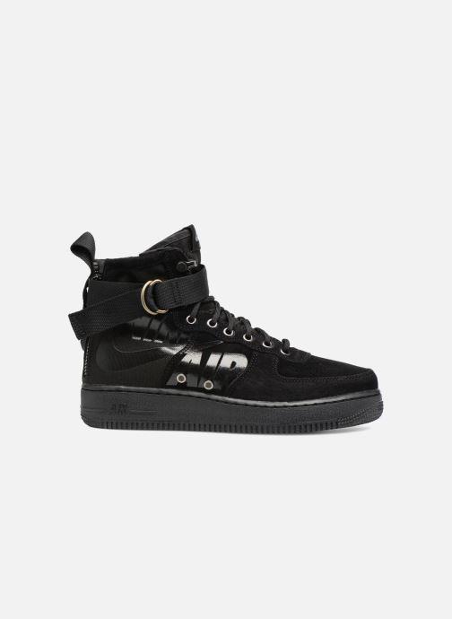 Sneaker Nike Sf Af1 Mid schwarz ansicht von hinten