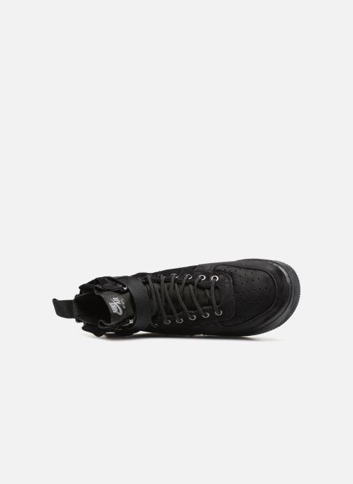 Sneaker Nike Sf Af1 Mid schwarz ansicht von links