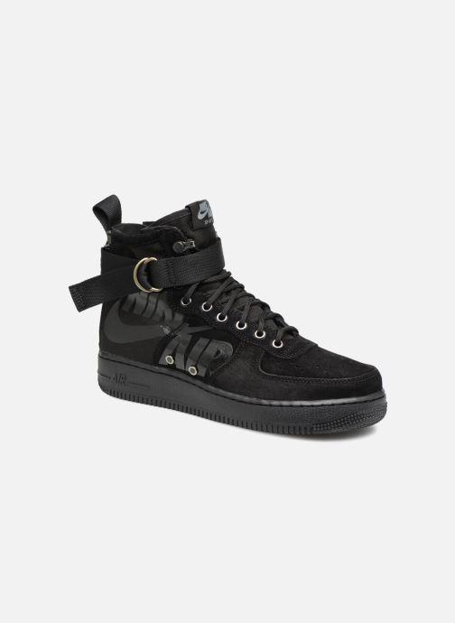 Sneaker Nike Sf Af1 Mid schwarz detaillierte ansicht/modell
