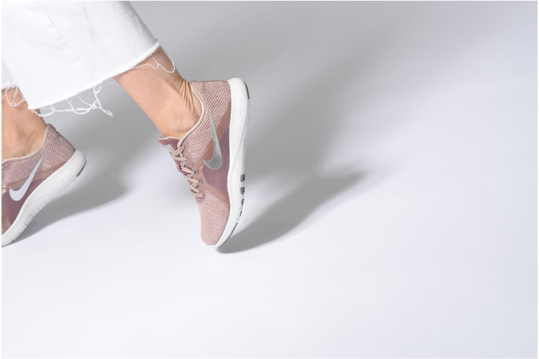 Sportschuhe Nike W Nike Flex Trainer 8 Prm rosa ansicht von unten / tasche getragen