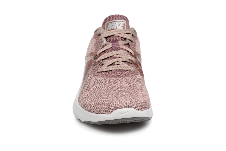 Sportschuhe Nike W Nike Flex Trainer 8 Prm rosa schuhe getragen