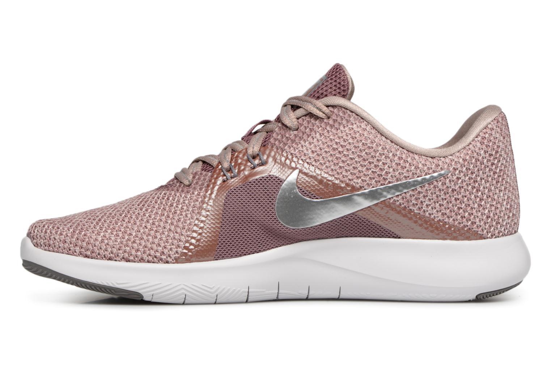 Sportschuhe Nike W Nike Flex Trainer 8 Prm rosa ansicht von vorne
