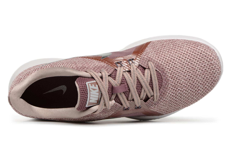 Sportschuhe Nike W Nike Flex Trainer 8 Prm rosa ansicht von links