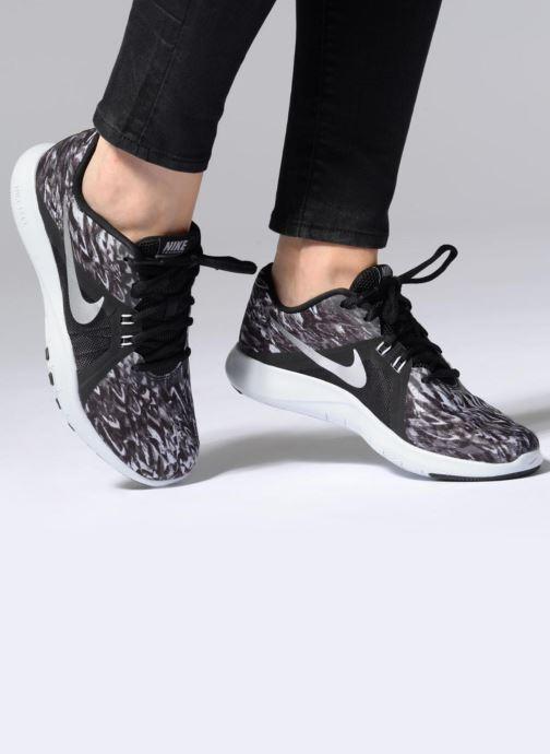Nike W Nike Flex Trainer 8 Print Grey Sport Shoes Chez Sarenza