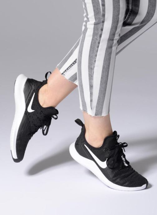 Sport shoes Nike Wmns Nike Free Tr 8 Black view from underneath / model view