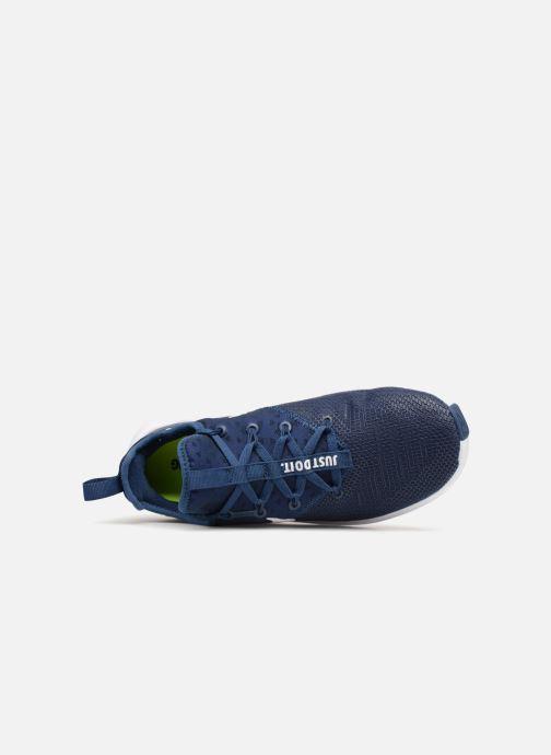 Sportschuhe Nike Wmns Nike Free Tr 8 blau ansicht von links