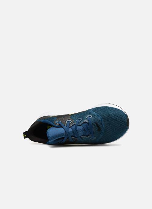 Sportschuhe Nike Nike Legend React blau ansicht von links