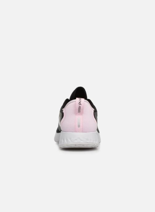 Zapatillas de deporte Nike Wmns Nike Legend React Negro vista lateral derecha