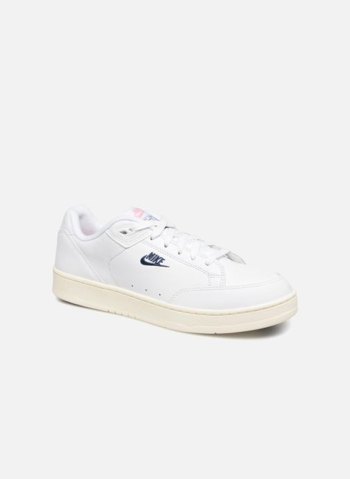 the latest 775ca 7a577 Baskets Nike Grandstand Ii Blanc vue détail paire