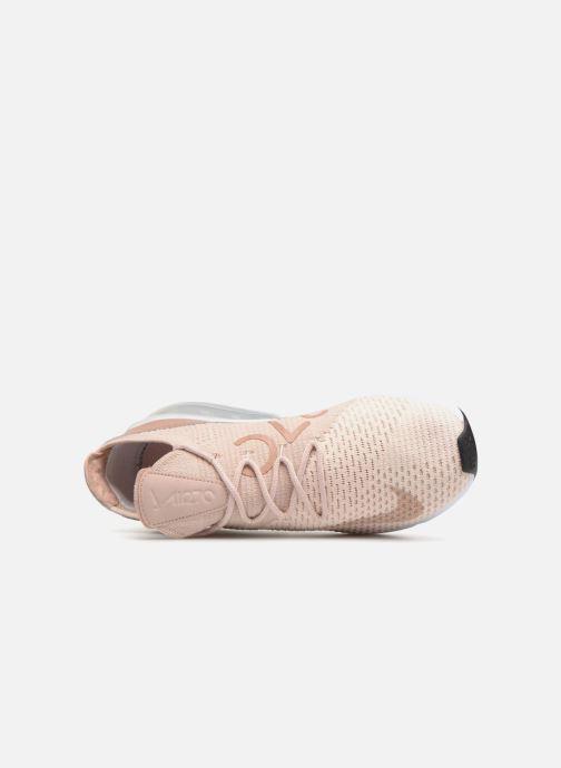 Nike W Air Max 270 Flyknit (Beige) Baskets chez Sarenza