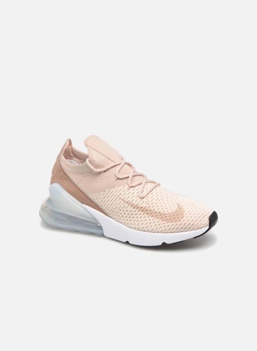innovative design f173d 42b29 Nike W Air Max 270 Flyknit (Beige) - Baskets chez Sarenza (329992)