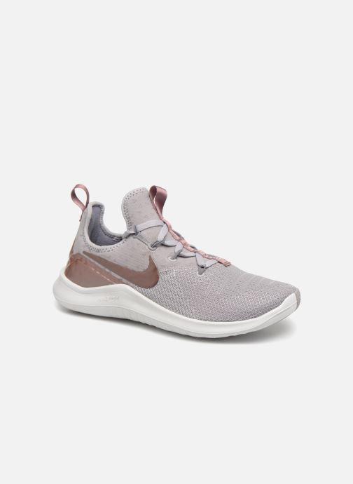 cheaper fc92e eb32c Chaussures de sport Nike Wmns Nike Free Tr 8 Lm Gris vue détail paire
