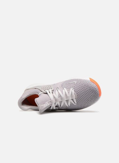 Sportschuhe Nike Nike Free Tr 8 grau ansicht von links