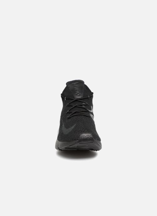 Baskets Nike Air Max 270 Flyknit Noir vue portées chaussures