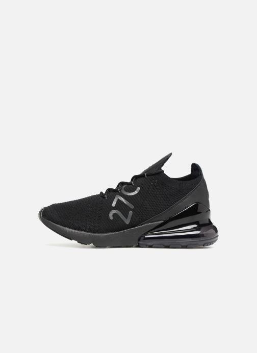 Baskets Nike Air Max 270 Flyknit Noir vue face