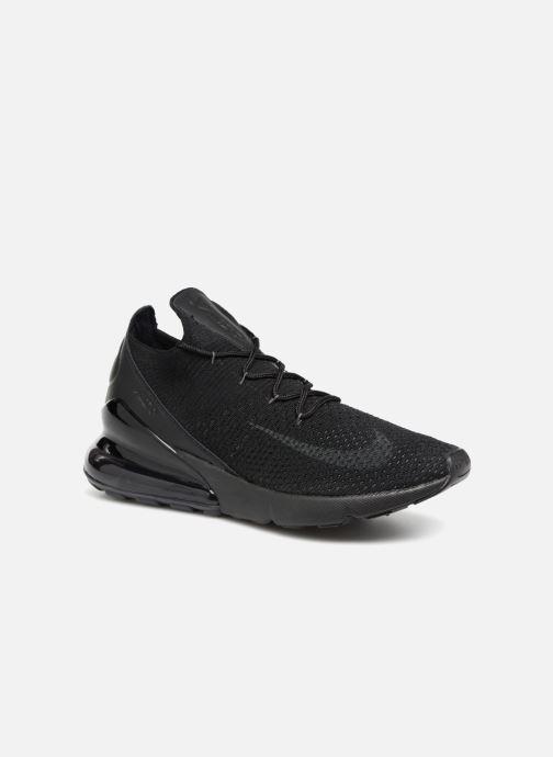 premium selection 19537 3e694 Baskets Nike Air Max 270 Flyknit Noir vue détail paire