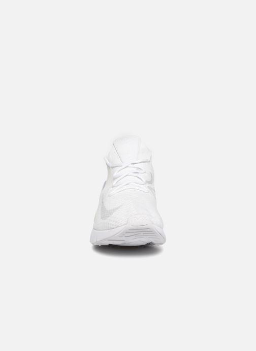 Sneaker Nike Air Max 270 Flyknit grau schuhe getragen