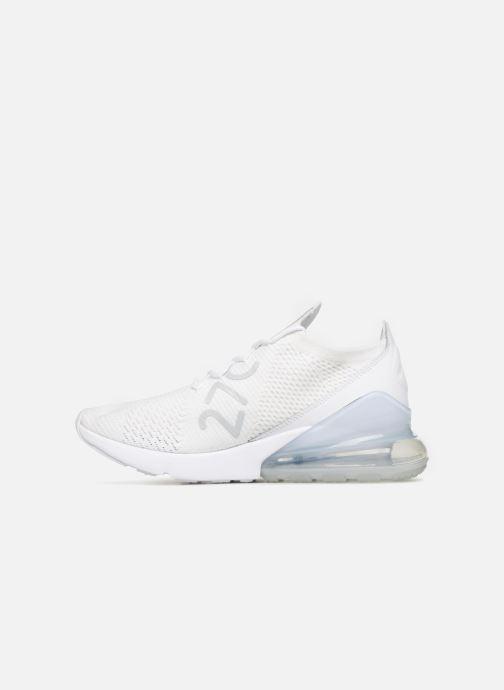 Sneaker Nike Air Max 270 Flyknit grau ansicht von vorne