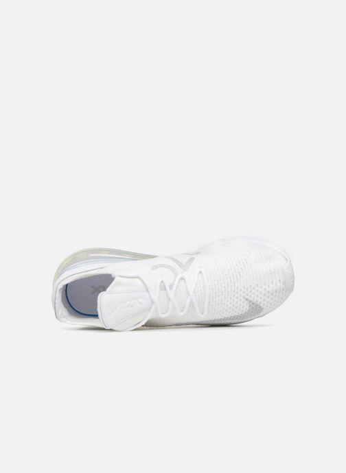 Sneaker Nike Air Max 270 Flyknit grau ansicht von links