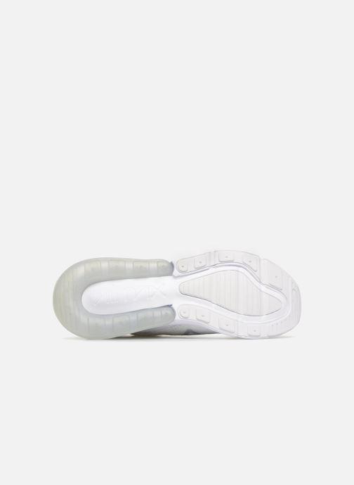 Sneaker Nike Air Max 270 Flyknit grau ansicht von oben