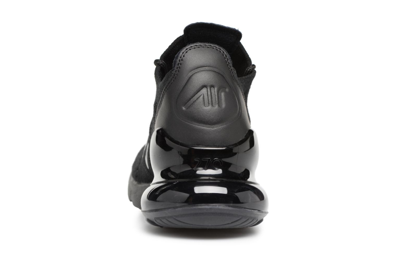 Baskets Nike Air Max 270 Flyknit Noir vue droite