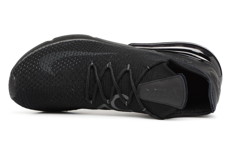 Baskets Nike Air Max 270 Flyknit Noir vue gauche