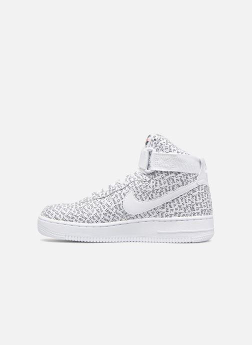 Sneaker Nike Wmns Air Force 1 Hi Lx weiß ansicht von vorne
