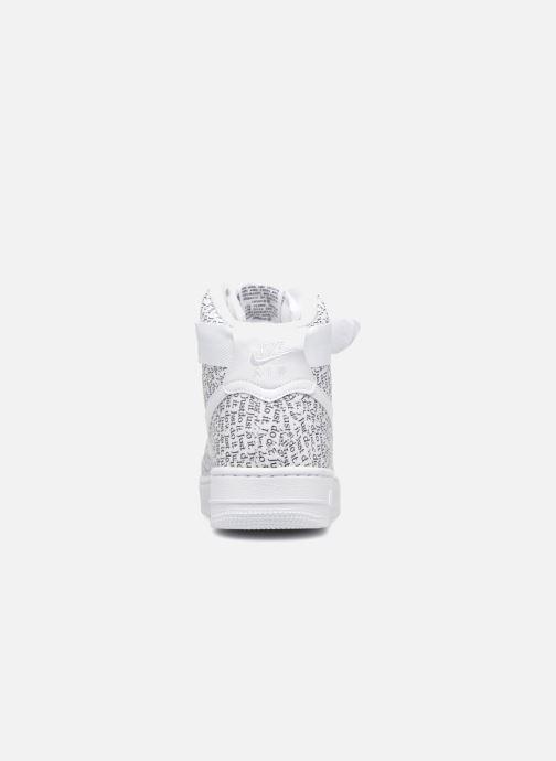 Sneaker Nike Wmns Air Force 1 Hi Lx weiß ansicht von rechts