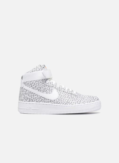 Sneaker Nike Wmns Air Force 1 Hi Lx weiß ansicht von hinten