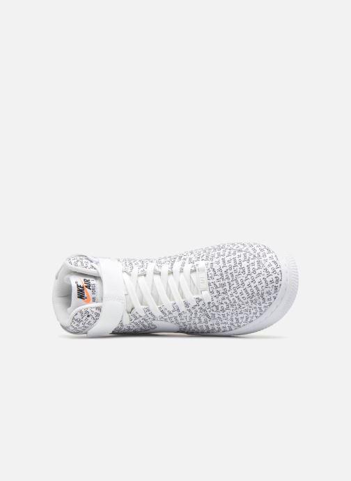 Sneaker Nike Wmns Air Force 1 Hi Lx weiß ansicht von links