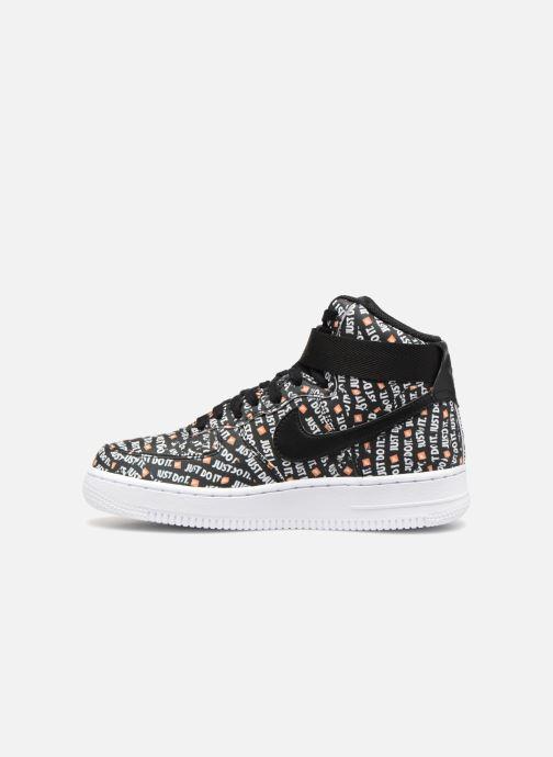 Sneaker Nike Wmns Air Force 1 Hi Lx schwarz ansicht von vorne